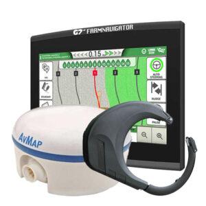 G7 Plus Farmnavigator + Turtle RTK GNSS sprejemnik + Sistem za avtomatsko vodenje (+-2cm)
