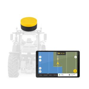 FieldBee RTK GNSS ročna navigacija z RTK GNSS L1 sprejemnikom in RTK GNSS L1 oddajnikom in 1 letno naročnino