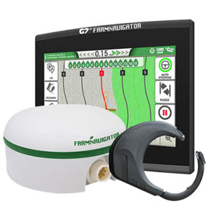 G7 Plus Farmnavigator + 1 minute RTK sprejemnik + Sistem za avtomatsko vodenje (+-2cm)